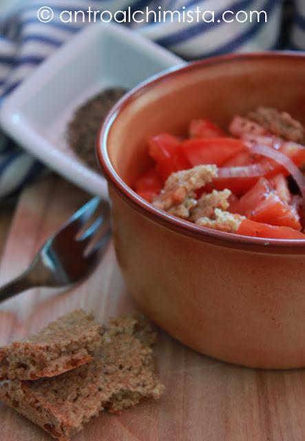 Frisella con Pomodori e Cipolle ricetta Dukan