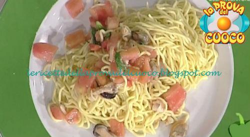 Tagliolini ai frutti di mare ricetta Ivano Ricchebono da Prova del Cuoco