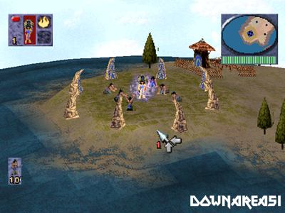 Populous The Beginning PS1 ISO - Download Game PS1 PSP Roms