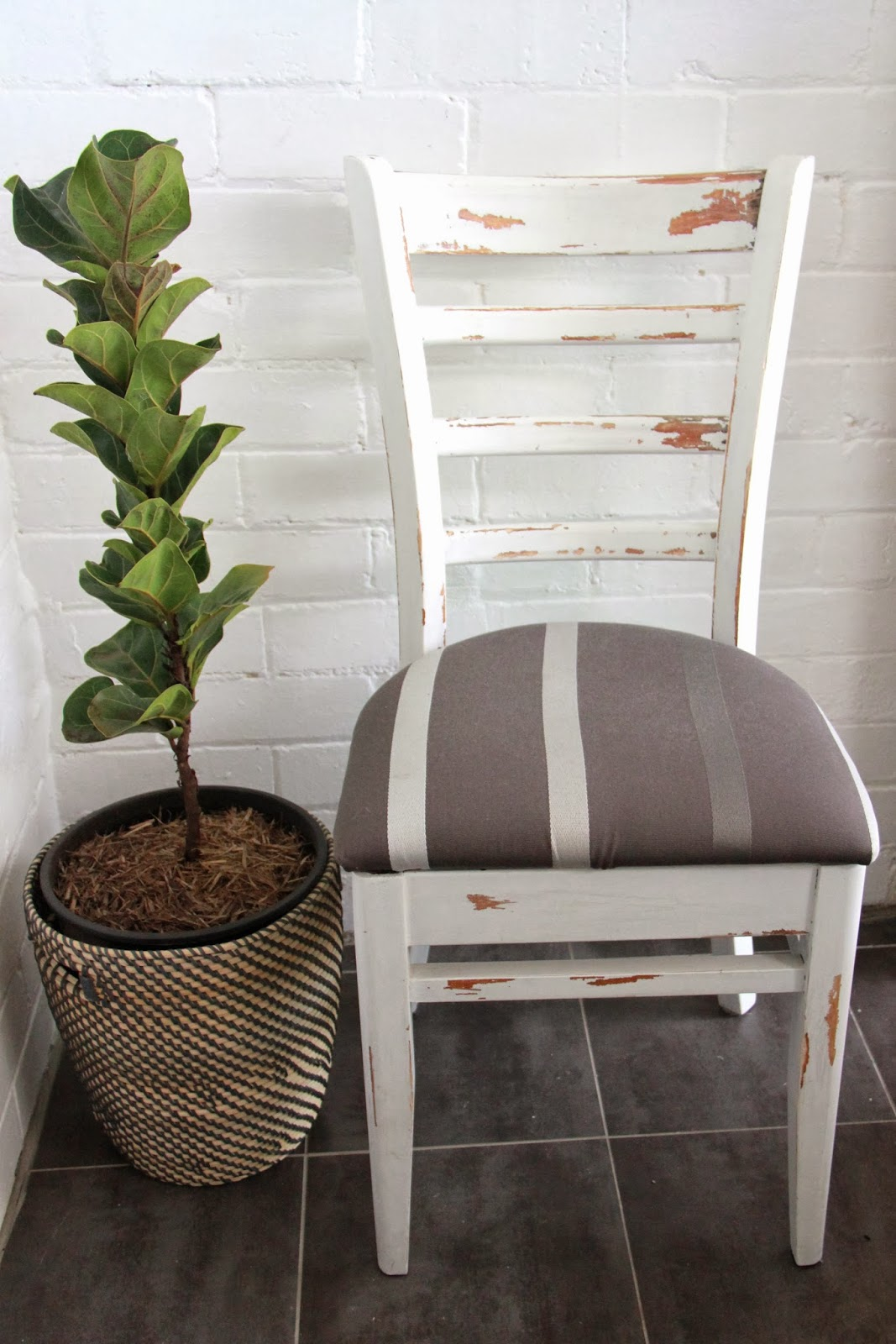 shabby chic chair gentlemans diy rustic white dining basil and chaise