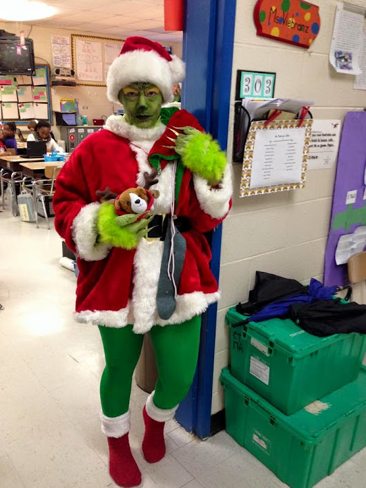 Cole Elementary PTO: Holiday Cheer Contest! The Grinch Takes Home The Prize!