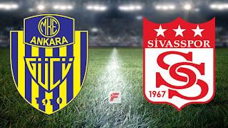 Ankaragücü - Sivasspor  maçını izle