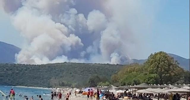 Εμπρησμό  βλέπουν οι αρχές πίσω από τη φωτιά στη Μάνη – Πάνω από 10.000 στρέμματα κάηκαν (βίντεο)