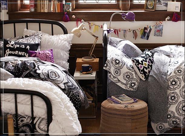 Stylish Dorm Rooms Ideas for Girls ~ Room Design Ideas