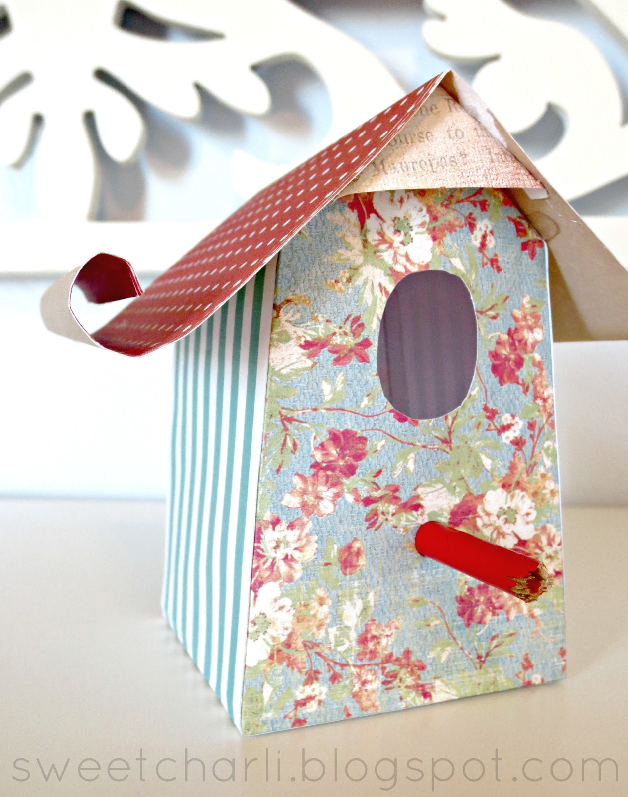 HERE ARE THE TEMPLATES Small Square Birdhouse