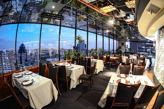 Restaurante Giratório em Santiago do Chile