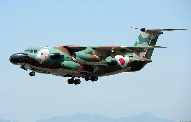 Gambar 33. Foto Pesawat Angkut Militer Kawasaki C-1