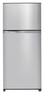 الثلاجة توشيبا 2 باب سعة 613 لتر