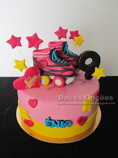 Bolo de aniversário Soy Luna