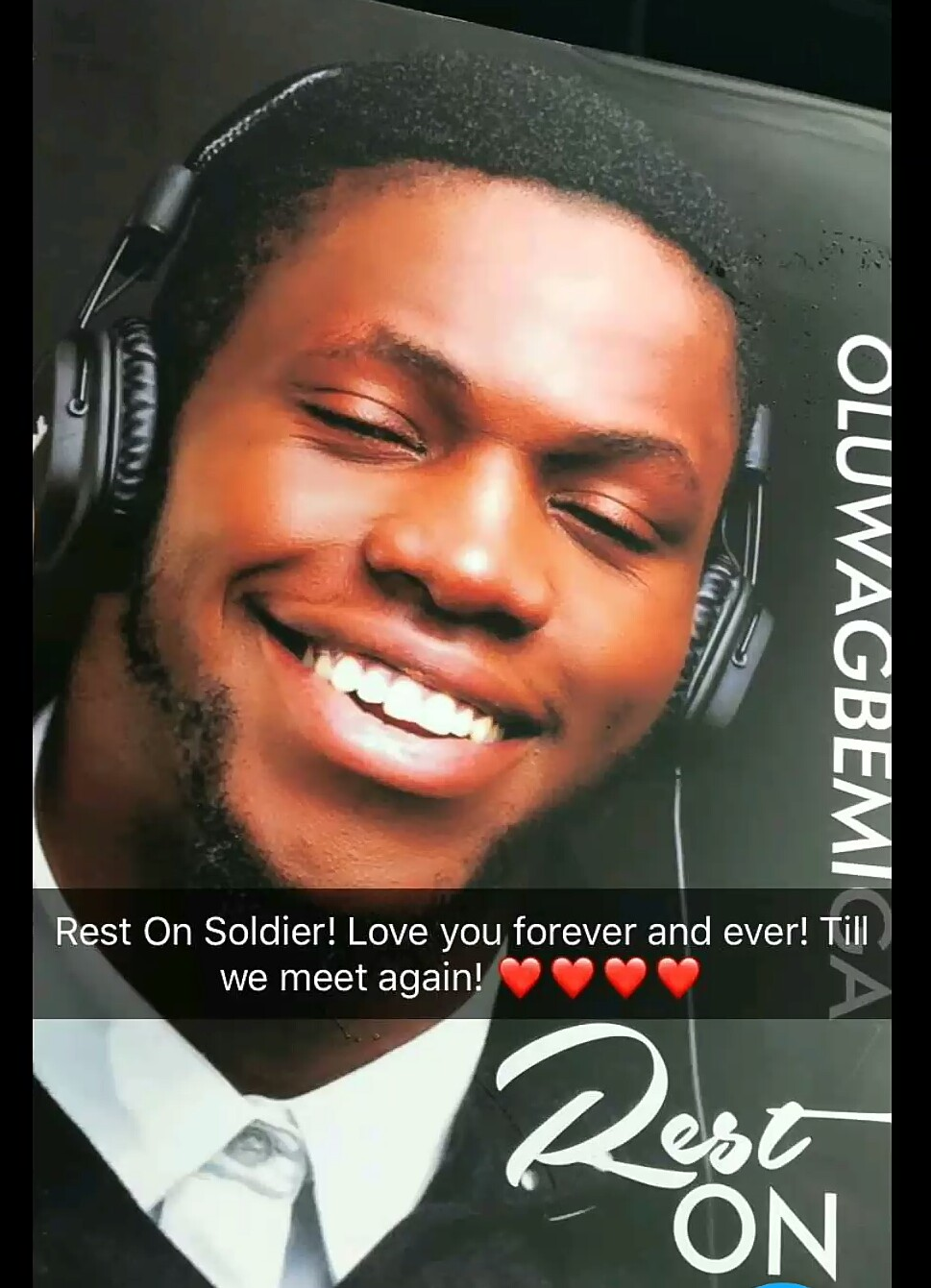He Is Gone - DJ Olu Finally Buried In Lagos Today 12th December 2017 - Photos