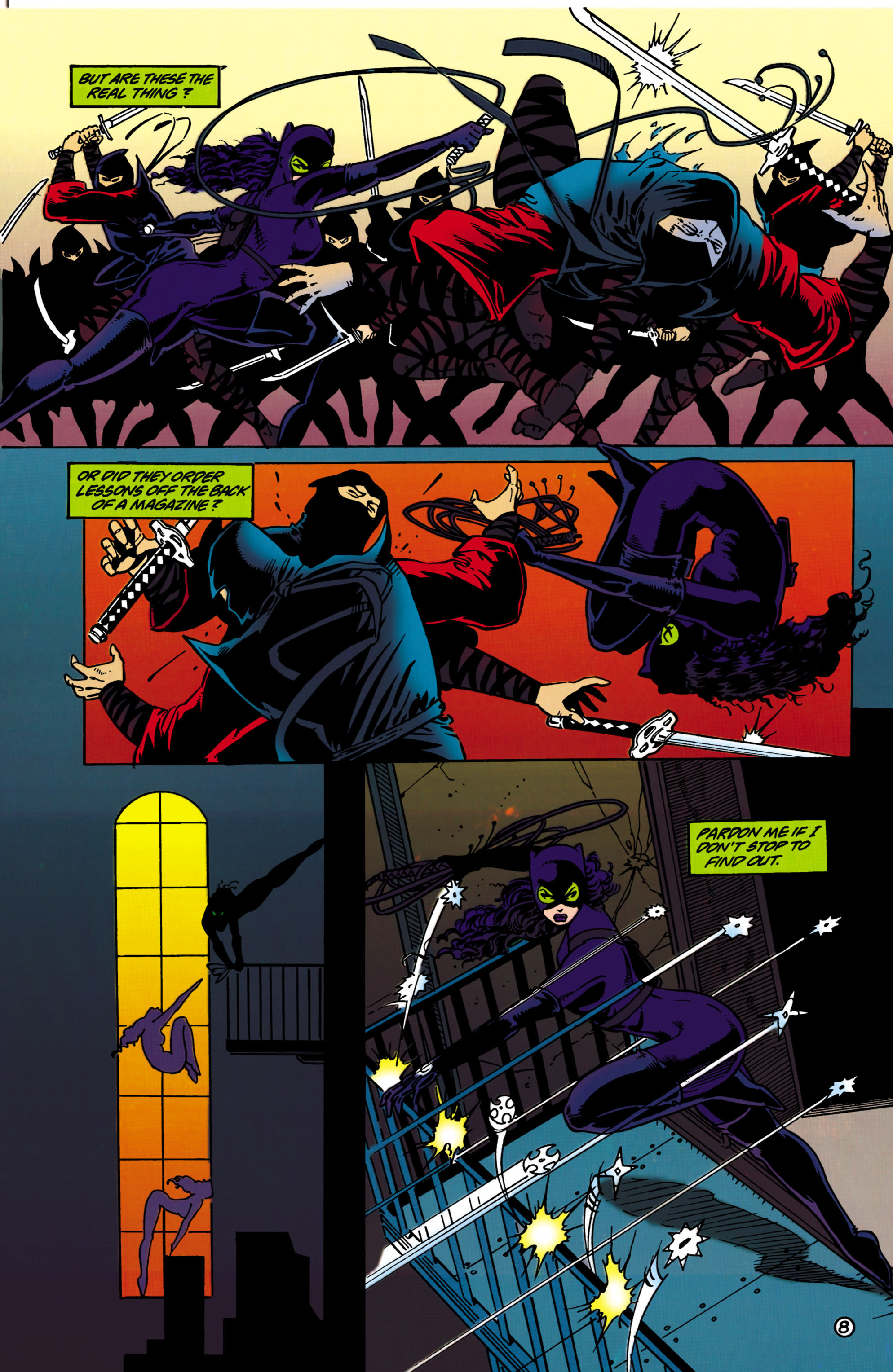 Catwoman (1993) Issue #33 #38 - English 9