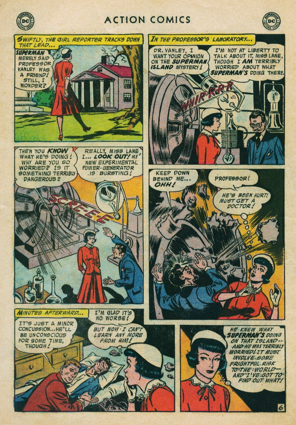 Read online Action Comics (1938) comic -  Issue #224 - 8