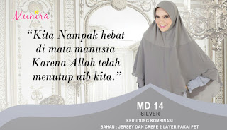 Jilbab Munira MD 14 Koleksi hijab syar'i terbaru dewasa