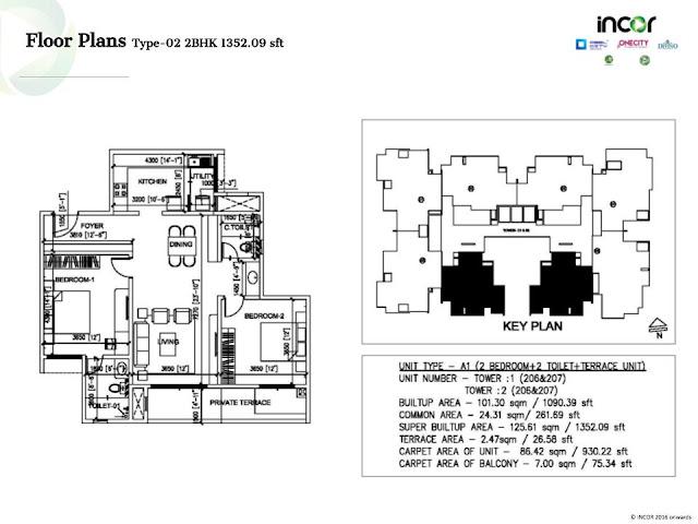 Incor Carmel Heights Floor Plan