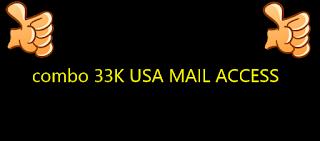 combo 33K USA MAIL ACCESS