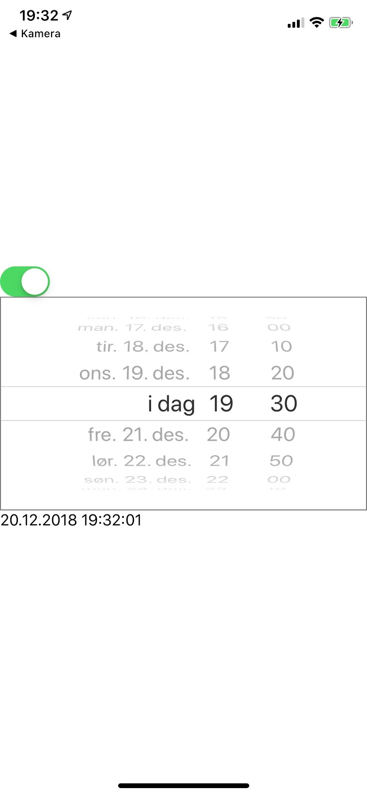 Coding Grounds: React native - Checkboxes and date pickers