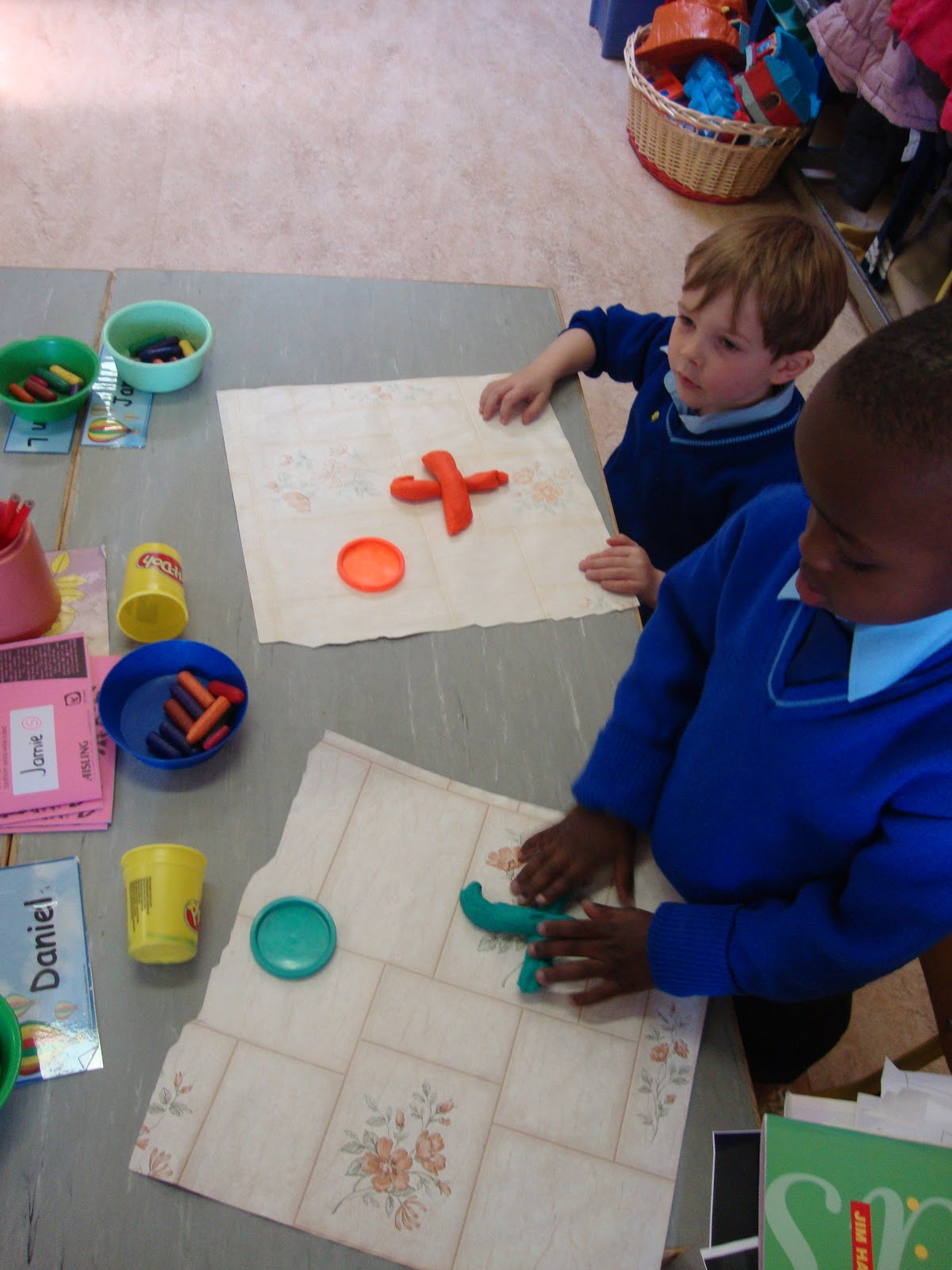 Literacy Site Learning Letters