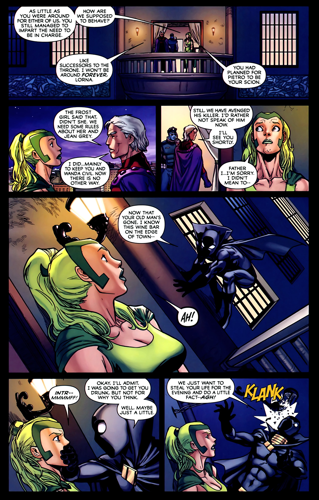 Read online Exiles (2009) comic -  Issue #2 - 13
