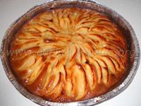 torta di mele con cannella
