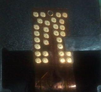 Imagen de cuales so los conectores de cartucho HP 60