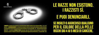 Campagna antirazzismo Torino