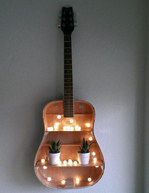 Make a Guitar Shelf