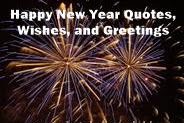Happy New Year Quotes, Wishes, And Greetings