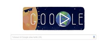 Google Doodle Hari ini Merayakan Gerhana Matahari Total 2016