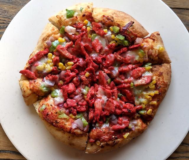 Grilled Tandoori Chicken Pizza