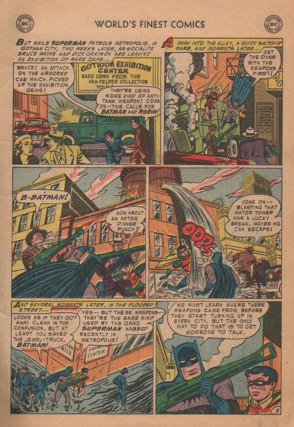Read online World's Finest Comics comic -  Issue #72 - 5