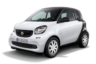 Smart ForTwo Pure Coupé (2017) Front Side