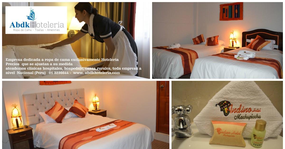 Abdk hoteleria peru ropa de cama para hoteles hostales - Ropa de cama para hosteleria ...