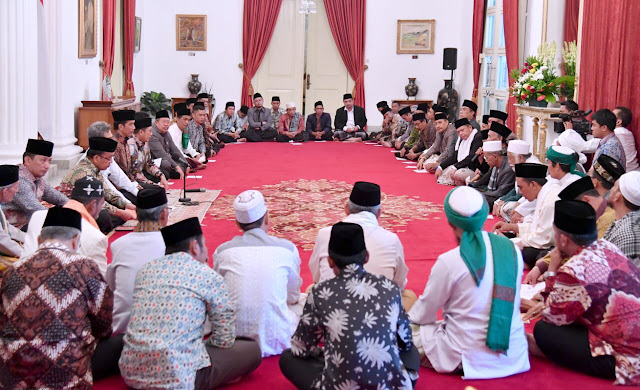 Upaya Islah Jokowi untuk meredam Aksi Bela Islam 3 yang akan berlangsung 25 November 2016