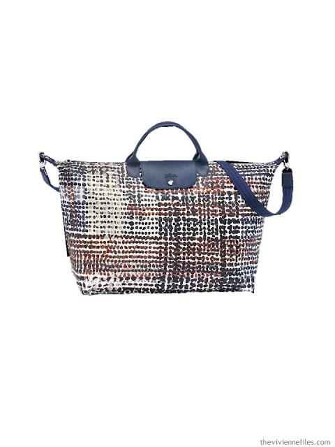 Longchamp Neo Fantasie Polka Dot travel bag