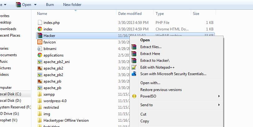 hackertyper offline