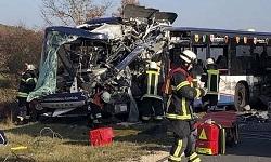 Γερμανία: Σύγκρουση δύο σχολικών λεωφορείων - Δεκάδες τραυματίες