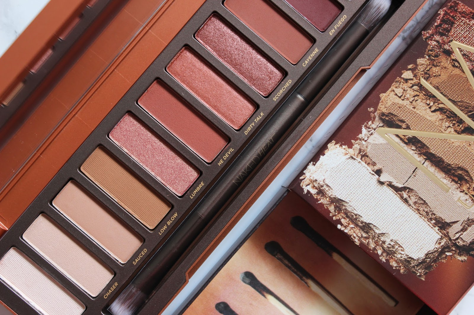 Urban Decay Naked Heat Eyeshadow Palette | Review & Swatches