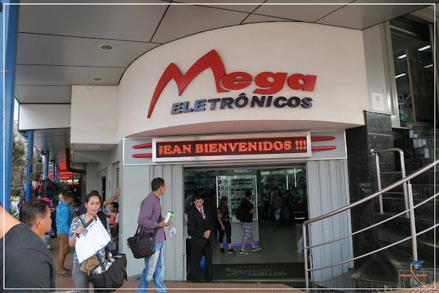 O que tem na Mega Eletrônicos, no Paraguai!