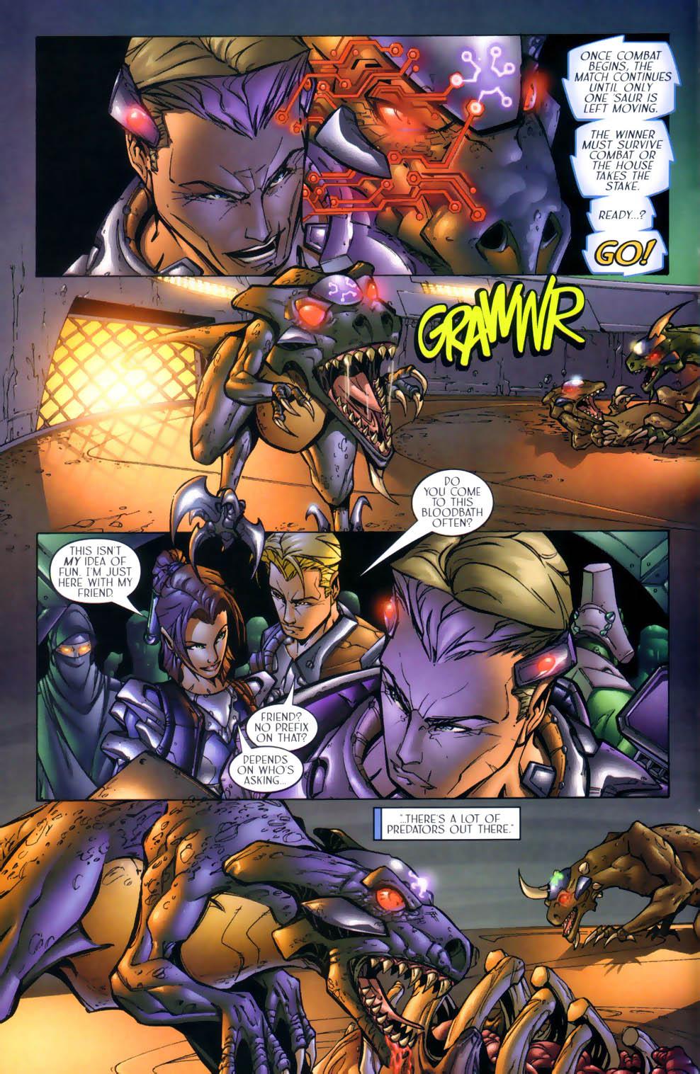 Read online Sigil (2000) comic -  Issue #1 - 8