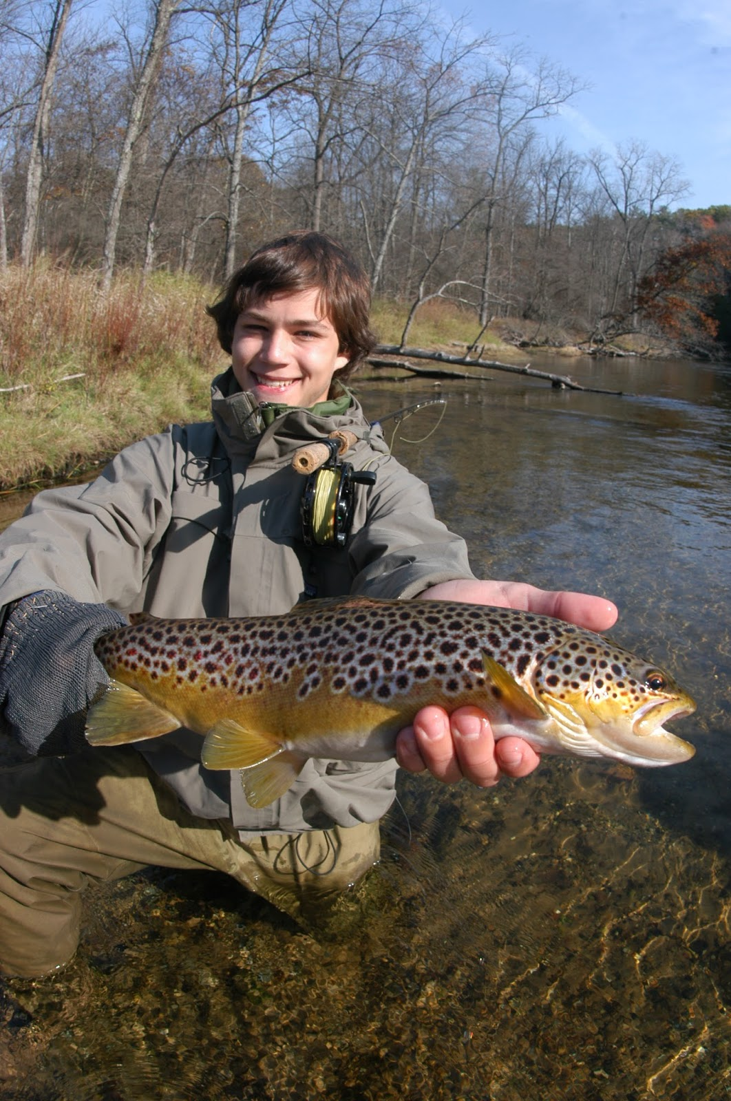 Make america 39 s youth outdoor healthy again learn to fly for Learning to fly fish