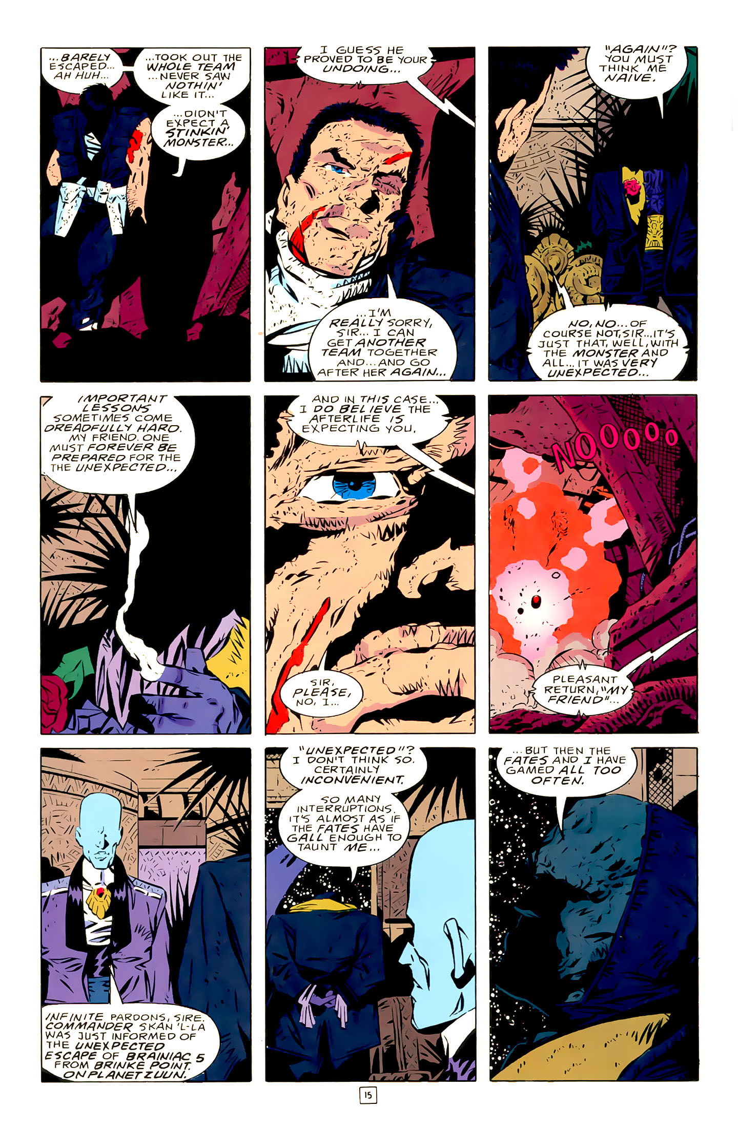 Legion of Super-Heroes (1989) 21 Page 15