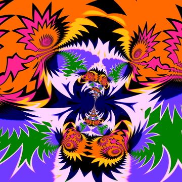 Crazy fractal