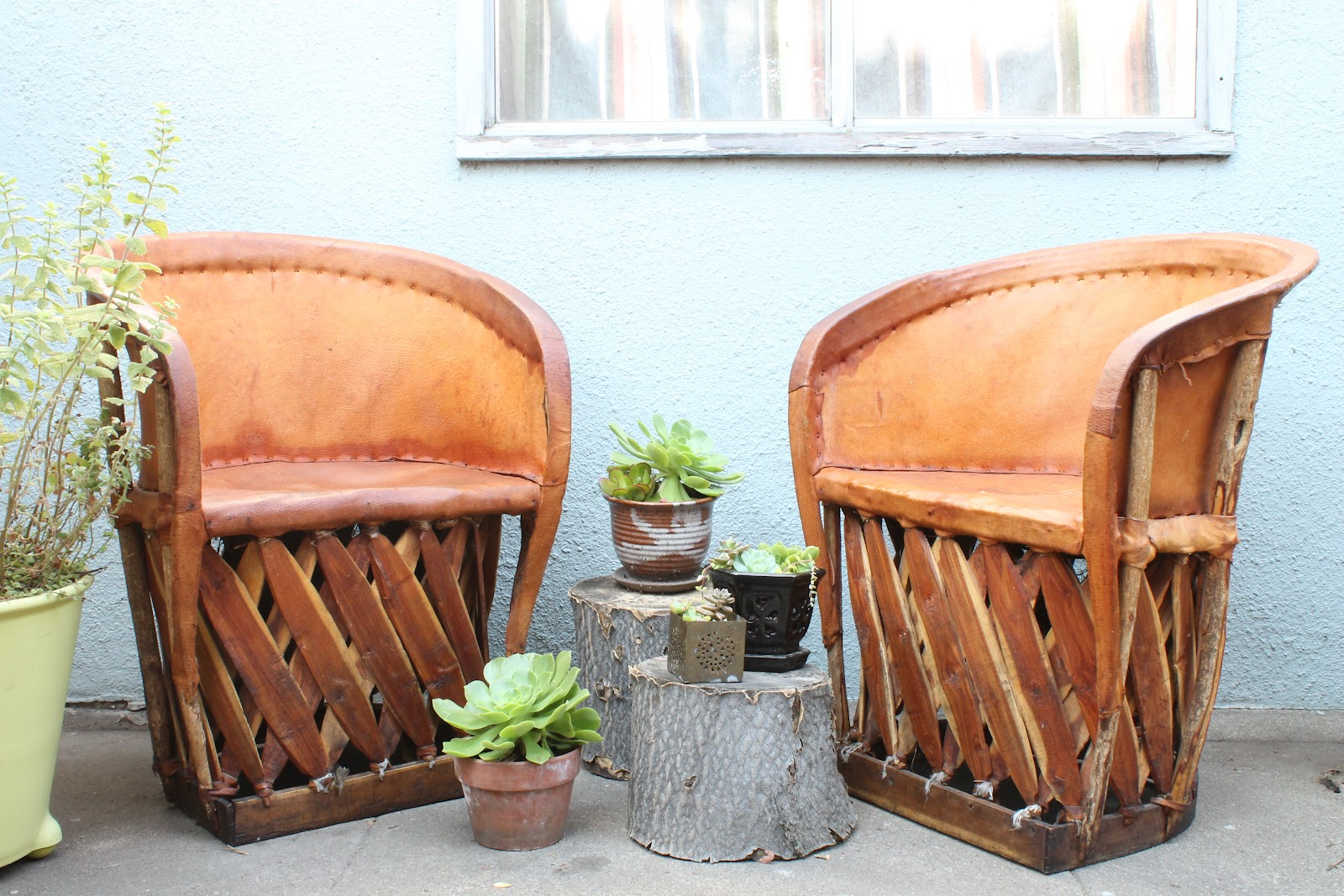 Walrus: Mexican Equipale Chairs -- SOLD on Craigslist