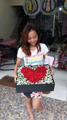 jual flower box surabaya, toko bunga surabaya florist, toko bunga hias surabaya