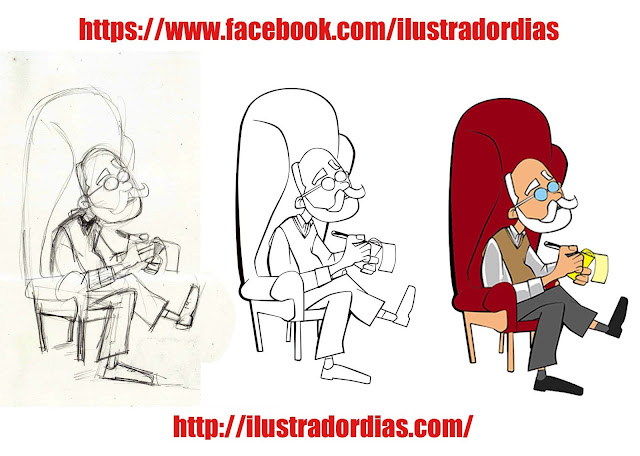 Cartoon do Sigmund Freud