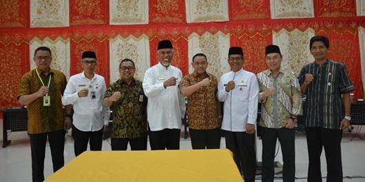 Optimalisasi Pendapatan Daerah, Pemko Padang Jalin MoU dengan BPN dan DJP
