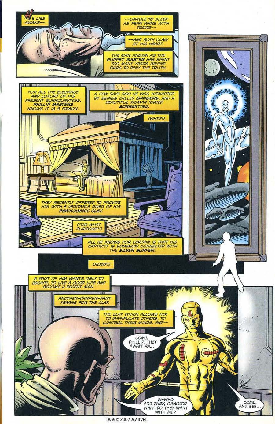 Read online Silver Surfer (1987) comic -  Issue #132 - 5
