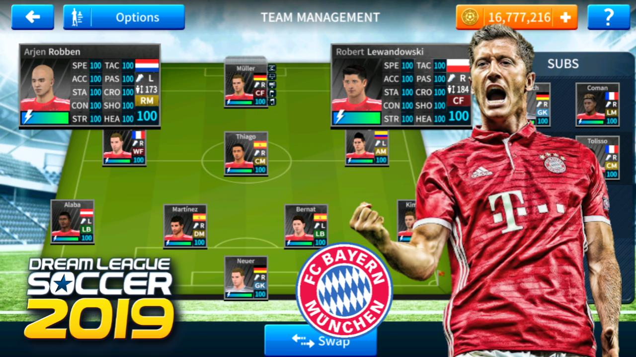 Bayern Munich Save Data For Dream League Soccer 2019
