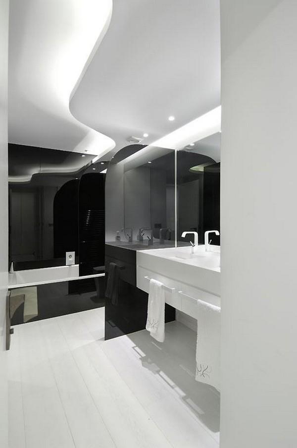 Hogares frescos arquitectura interior de casa minimalista for Design minimalista