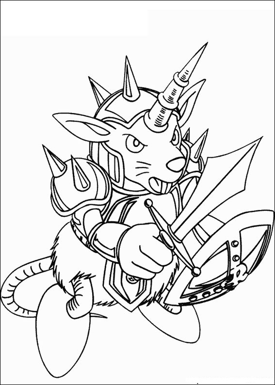 Fun Coloring Pages: Yu-Gi-Oh Coloring Pages